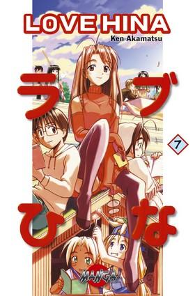 Love Hina 07 av Ken Akamatsu