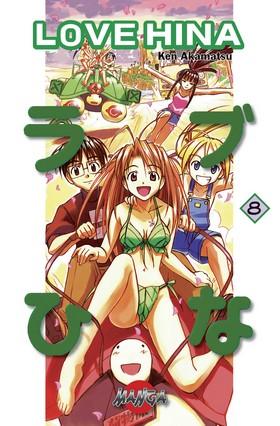 Love Hina 08 av Ken Akamatsu