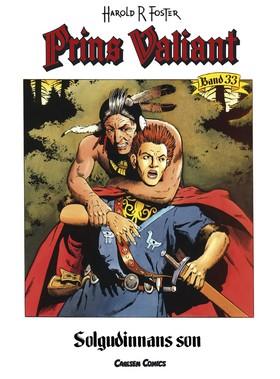 Prins Valiant. Bd 33, Solgudinnans son av Harold R Foster