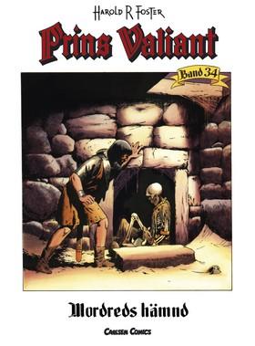 Prins Valiant. Bd 34, Mordreds hämnd av Harold R Foster