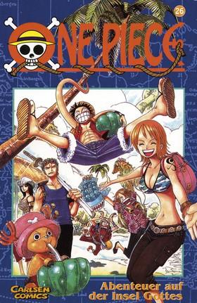 One Piece 26 : Äventyret på gudarnas ö av Eiichiro Oda