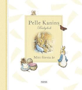 Pelle Kanins Babybok : mitt första år av Beatrix Potter