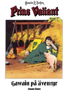 Prins Valiant. Bd.37, Gawain på äventyr av Harold R Foster