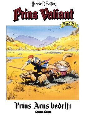Prins Valiant. Bd.38, Prins Ams bedrift av Harold R Foster
