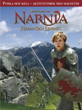 Narnia - pyssla och måla; aktivitetsbok med magneter