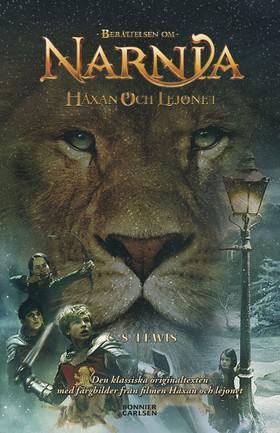 Häxan och lejonet - med filmomslag och inlaga