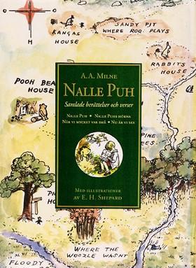 Nalle Puh : samlade berättelser och verser av A. A. Milne
