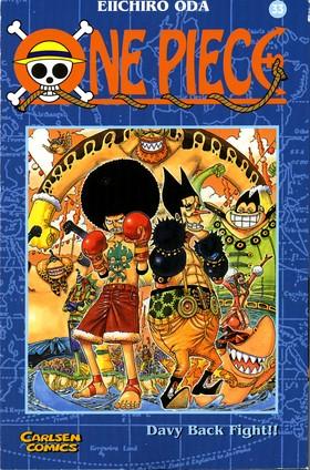 One Piece 33 - Davy stöldkamp!!
