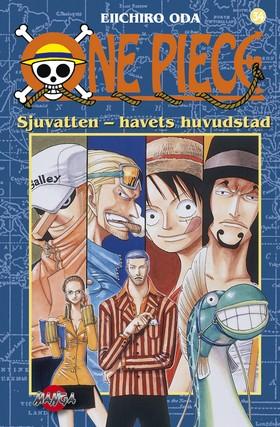 One Piece 34 - Sjuvatten- havets huvudstad : Sjuvatten- havets huvudstad av Eiichiro Oda