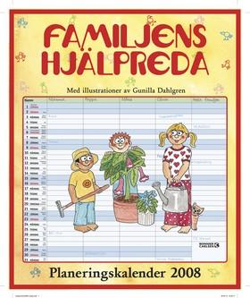 Familjens hjälpreda : planeringskalender 2008 av  Redaktionen