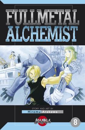FullMetal Alchemist 08 av Hiromu Arakawa