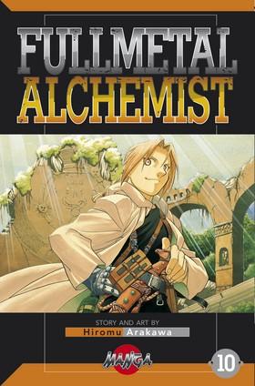 FullMetal Alchemist 10 av Hiromu Arakawa