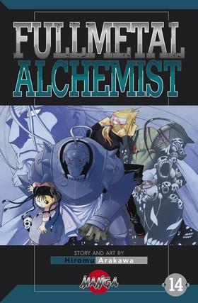 FullMetal Alchemist 14 av Hiromu Arakawa