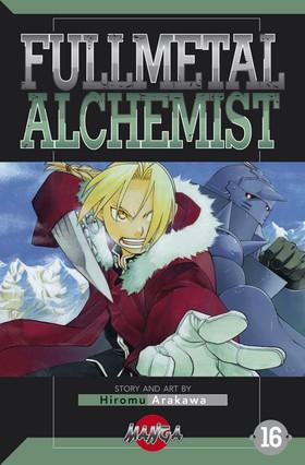 FullMetal Alchemist 16 av Hiromu Arakawa
