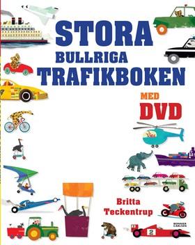 Stora bullriga trafikboken + DVD