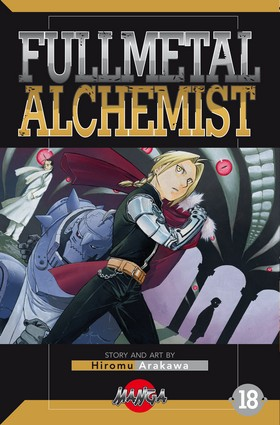 FullMetal Alchemist 18 av Hiromu Arakawa