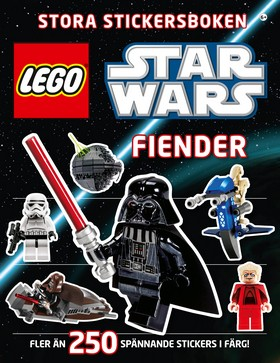 LEGO Star Wars stora stickersboken: Fiender