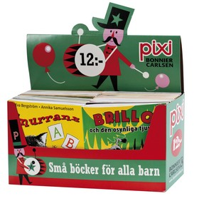 Pixi säljförpackning serie 197