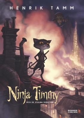 Ninja Timmy och de stulna skratten av Henrik Tamm