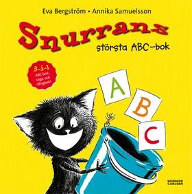 Snurrans största ABC-bok av Eva Bergström