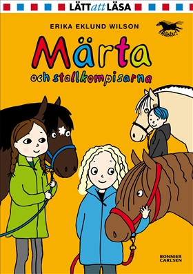 Märta och stallkompisarna av Erika Eklund Wilson