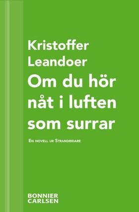 E-bok Om du hör nåt i luften som surrar: En skräcknovell ur Strandridare av Kristoffer Leandoer