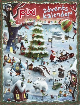 Pixi adventskalender - Alexander Jansson