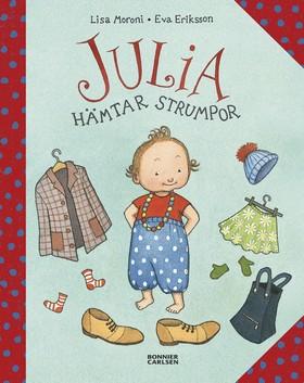 Julia hämtar strumpor