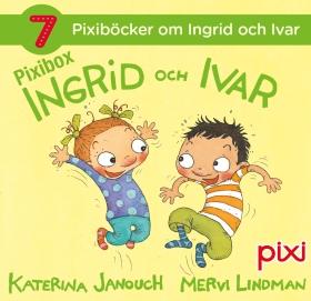 7 Pixiböcker om Ingrid och Ivar av Katerina Janouch
