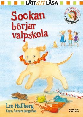E-bok Sockan börjar valpskola av Lin Hallberg