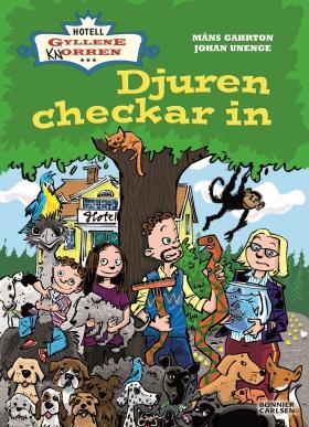 E-bok Djuren checkar in av Måns Gahrton