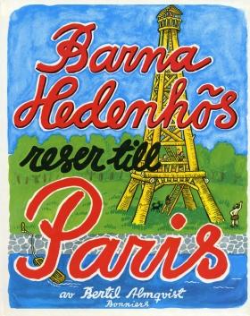 Barna Hedenhös reser till Paris