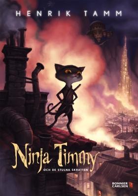 E-bok Ninja Timmy och de stulna skratten av Henrik Tamm