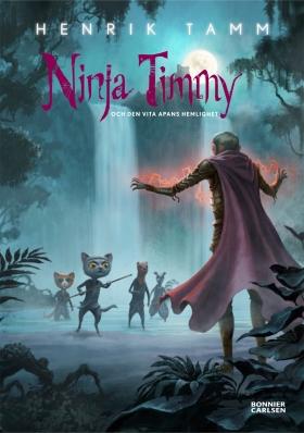 E-bok Ninja Timmy och den vita apans hemlighet av Henrik Tamm