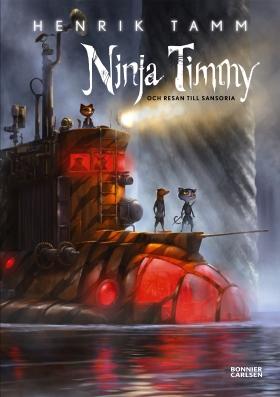 E-bok Ninja Timmy och resan till Sansoria av Henrik Tamm