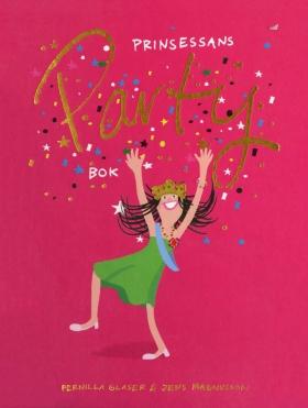 E-bok Prinsessans partybok av Pernilla Glaser