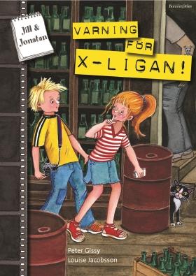 E-bok Varning för X-ligan av Peter Gissy