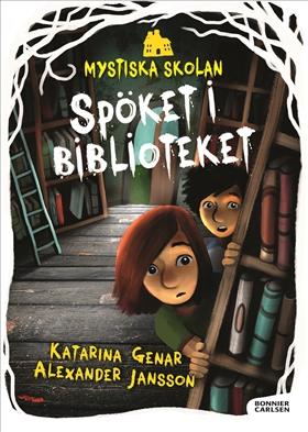 Mystiska skolan Spöket i biblioteket