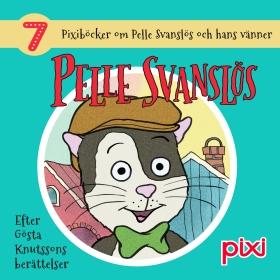 7 Pixiböcker om Pelle Svanslös och hans vänner av Gösta Knutsson