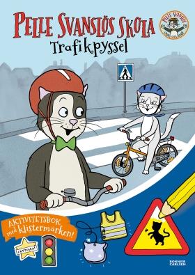 Pelle Svanslös skola. Trafikpyssel av Gösta Knutsson