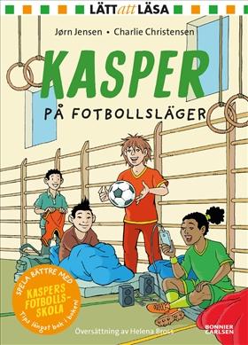 Kasper på fotbollsläger