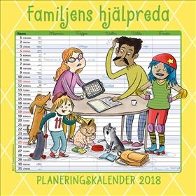 Familjens hjälpreda - Planeringskalender 2018