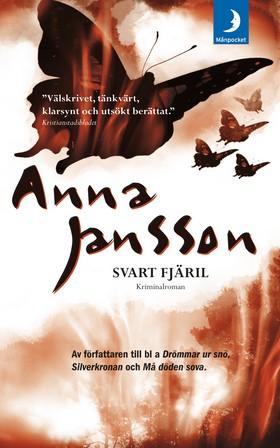 Svart fjäril av Anna Jansson