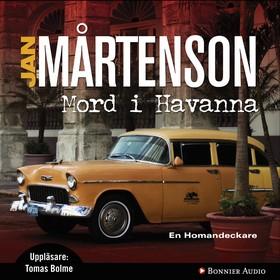 Ljudbok Mord i Havanna av Jan Mårtenson
