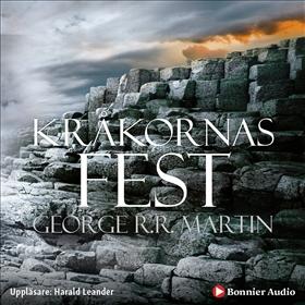 Ljudbok Game of thrones - Kråkornas fest av George R. R. Martin