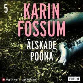 Ljudbok Älskade Poona av Karin Fossum