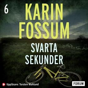 Ljudbok Svarta sekunder av Karin Fossum