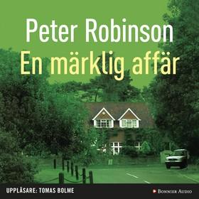Ljudbok En märklig affär av Peter Robinson
