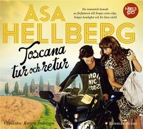 Ljudbok Toscana tur och retur av Åsa Hellberg