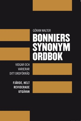 Bonniers synonymordbok av Göran Walter